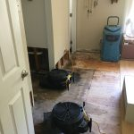 Water Damages on flooring